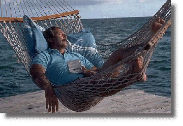 Resting onHammock