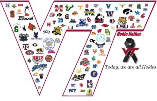 Today we are all Hokies - Hokie Nation
