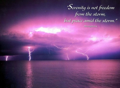 peace in the storm - peace in the suffering 2 Corinthians 1