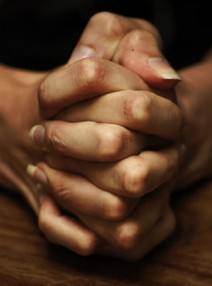 Folded Hands Praying - Cry Out To God - Psalms 102